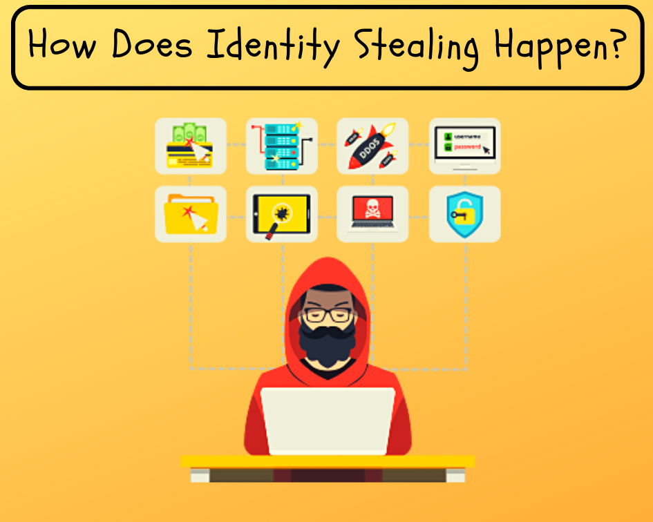 How Does Identity Stealing Happen?