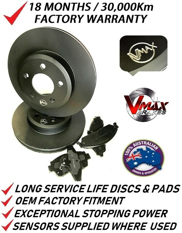 fits TOYOTA Soarer JZZ30 UZZ32 91 Onwards FRONT Disc Brake Rotors & PADS PACKAGE