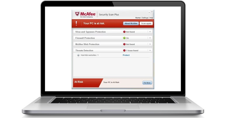 How to monitor your protection status with McAfee Security Scan Plus?