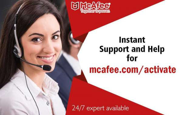 How to initiate and activate mcafee antivirus?