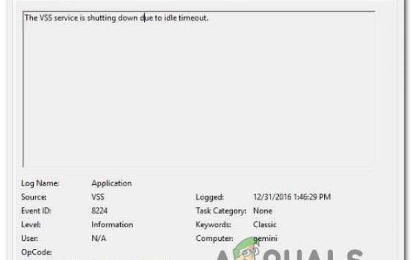 How to Fix 'VSS Service is Shutting Down Due to Idle Timeout'