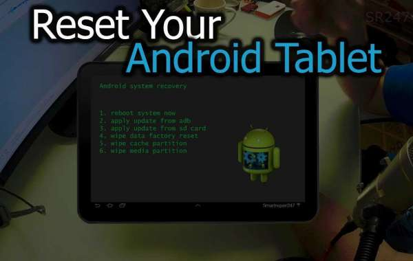 How to Factory Reset your Android Tablet?