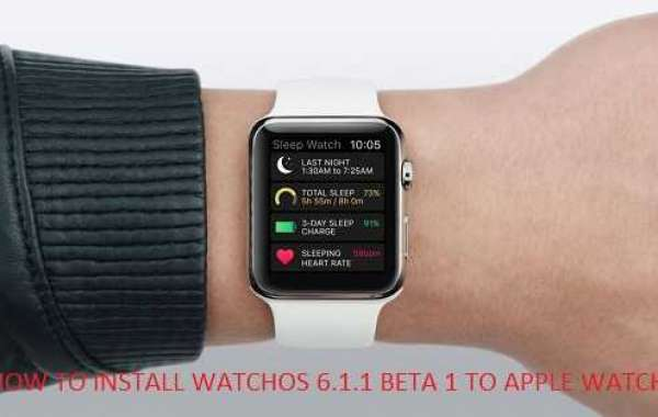 HOW TO INSTALL WATCHOS 6.1.1 BETA 1 TO APPLE WATCH