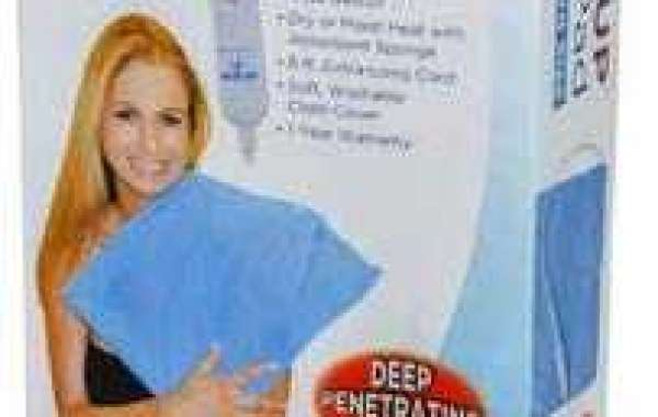 Blue Jay An Elite Healthcare Brand Heat It Up Electric Heating Pad for Cramp and Pain Relief