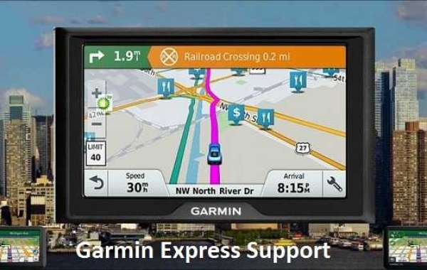 What is the Garmin express service