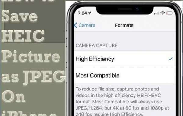 How to Save HEIC Picture as JPEG On iPhone