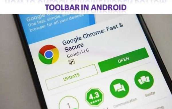 How to Unlock Chrome Hidden Bottom Toolbar in Android