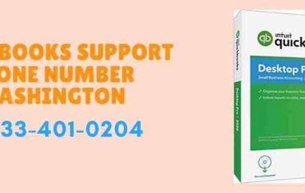 QuickBooks Support Phone Number Washington @ 1-833-4O1-O2O4 | Help