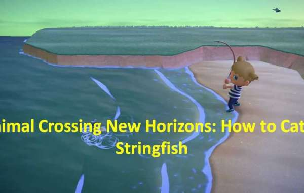 Animal Crossing New Horizons: How to Catch Stringfish