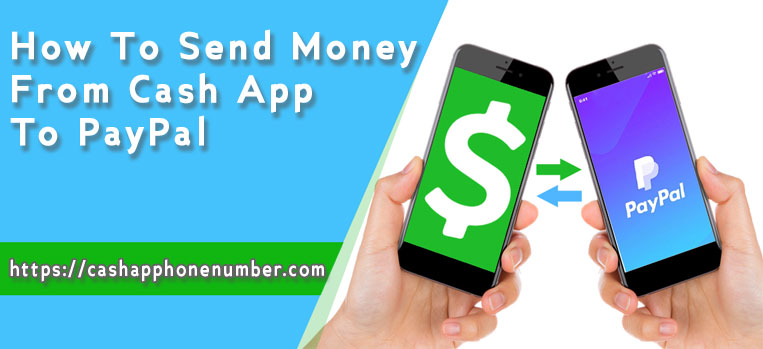 How To Send Money From Cash App to PayPal|+1858-726-9728|