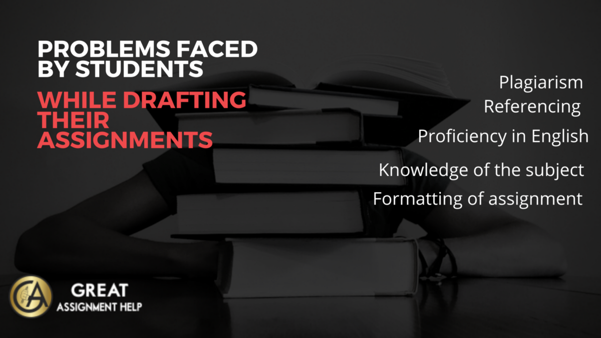 Problems Faced by Students While Drafting Their Assignments