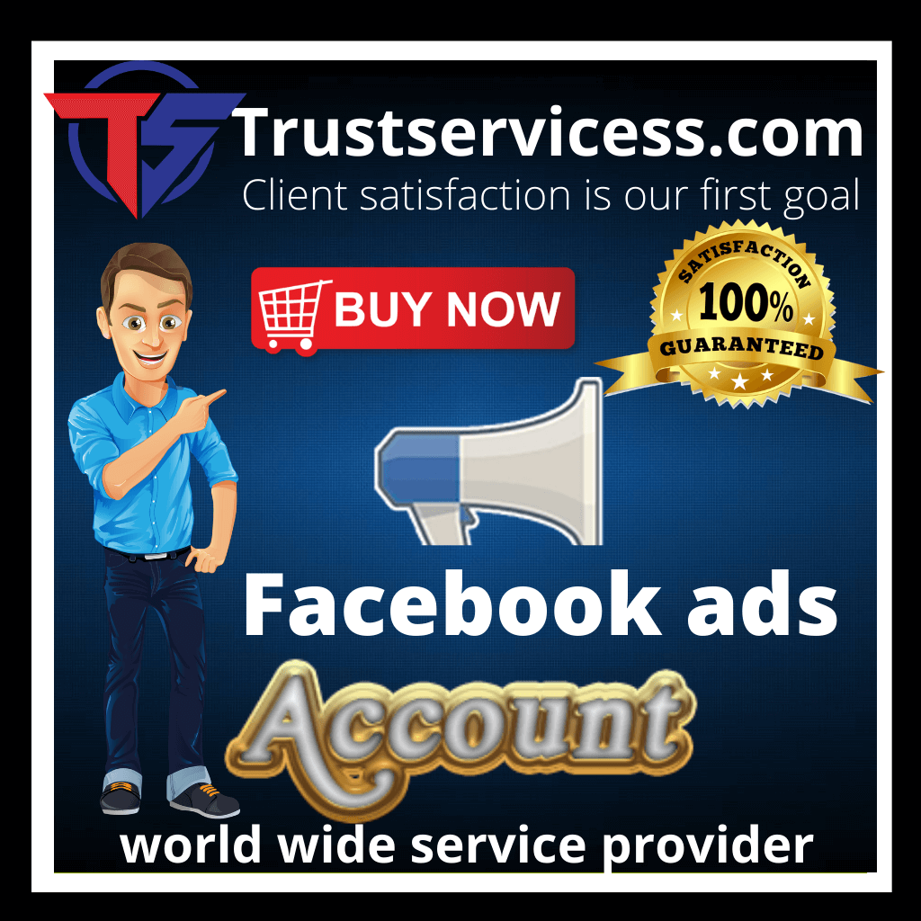 Buy Facebook Ads Accounts - 100% Real and Safe-Trust Servicess