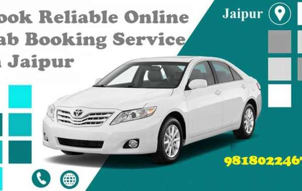 Book Reliable Online Cab Booking Service in Jaipur