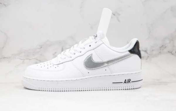 CZ4206-100 Nike Air Force 1 White Black Hollow For Sale