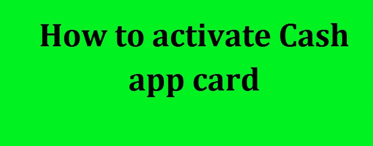 How to activate cash app card | Cash App Activate Card