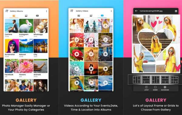 Gallery is A fast, light and private HD photo gallery and photo manager app