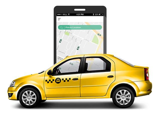 Taxi Booking App Development Company - Taxi App Developers India
