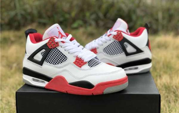 "Cheap Air Jordan 4 Retro ""Fire Red"" Hot Sell 308497-110"