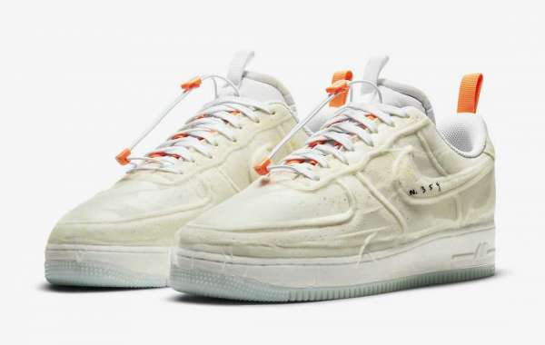 """Latest 2021 Nike Air Force 1 Experimental """"Sail"""" Release Date"""