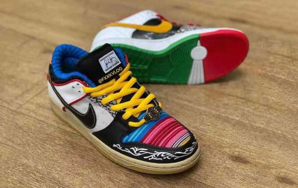 "Nike SB Dunk Low ""What The P-Rod"" Skateboard Shoes Releasing Soon"