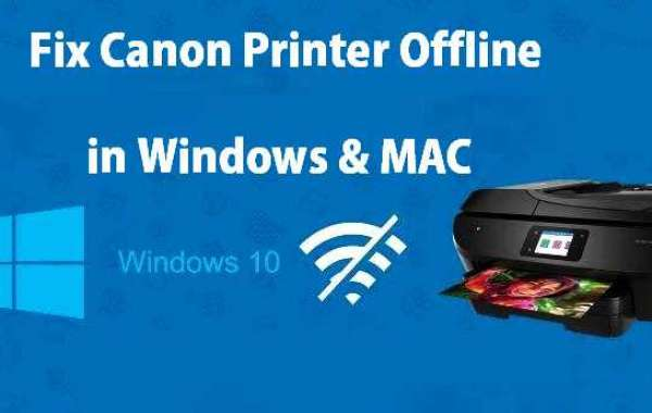 Fix Canon Printer offline issue Canon printer setup & installation