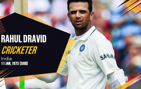 Rahul Dravid Awards & Achievements